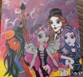 monster high scaris by cory nation 36x36 - monster-high fan art