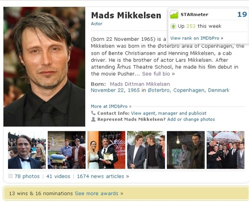no.19 on IMDb's Список