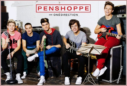 one direction , Penshoppe, 2013