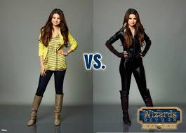 selena on wizards of waverly place  alex vs alex