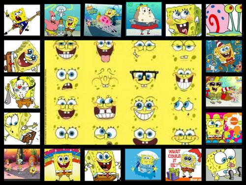 Manchester United 壁紙 titled spongebob