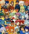 the legendary characters of inazuma eleven