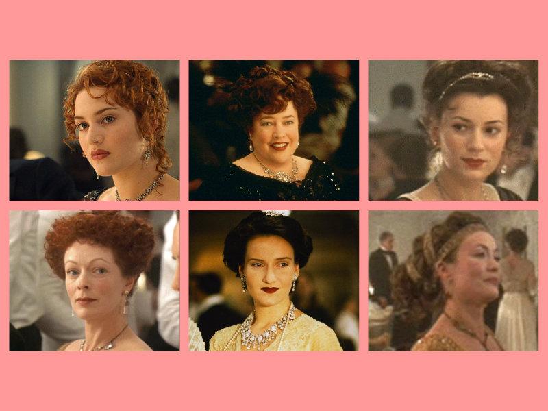 titanic Characters: 1st class women
