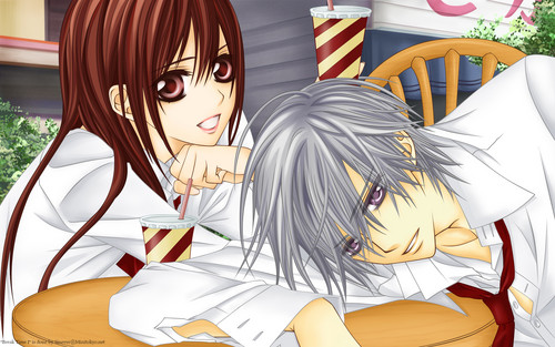Vampire Knight wolpeyper called vampire knight