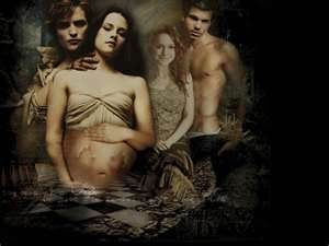 Edward and Bella پیپر وال probably with skin and عملی حکمت entitled xxx Edward + Bella xxx