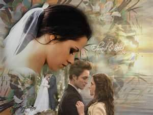 Edward and Bella wallpaper possibly containing a portrait titled xxx Edward + Bella xxx