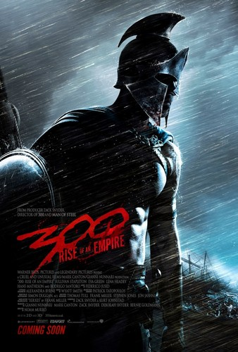 ''300: Rise of an Empire'' -Teaser Poster