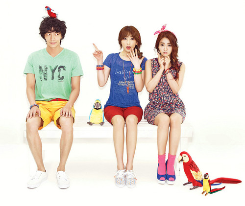 [CF] Lee Min Ki and KARA Ji Young and Seung Yeon - Unionbay SS 2013