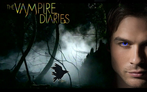 The Vampire Diaries TV Show wallpaper containing anime titled ♥ DAMON ♥
