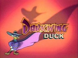 "The 90s achtergrond probably with anime titled ""Darkwing Duck"""