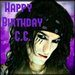  Happy Birthday CC  April 21st  - christian-coma icon