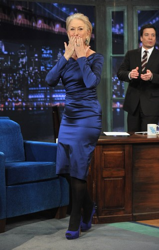 """""""Late Night With Jimmy Fallon"""" in New York City 2012"""