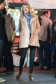 'Spider-Man 2' Films in NYC - emma-stone photo