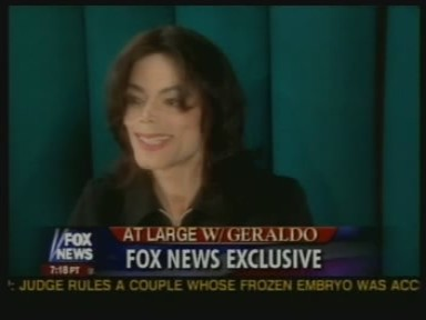 2005 Interview With Journalist, Geraldo Rivera