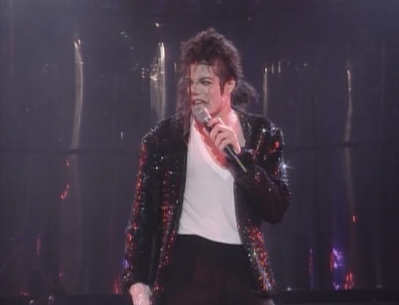 "A Live Performance Of ""Billie Jean"""