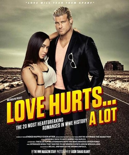 AJ Lee and Dolph Ziggler