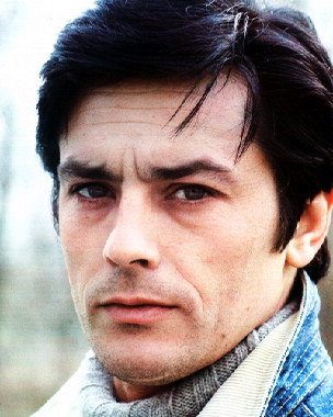알랭 들롱 바탕화면 containing a portrait called Alain Delon