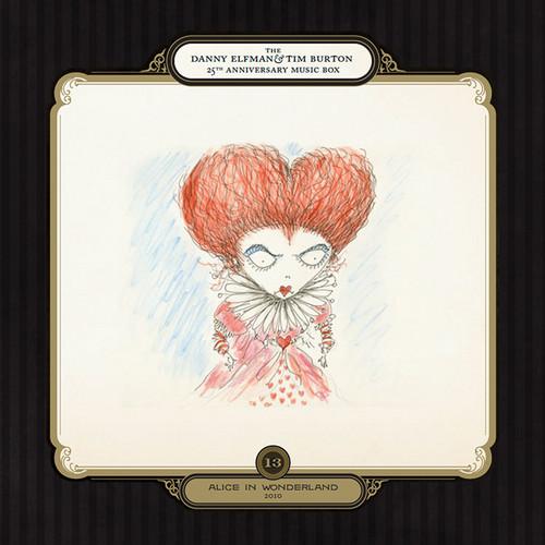Alice In Wonderland Score CD Covers
