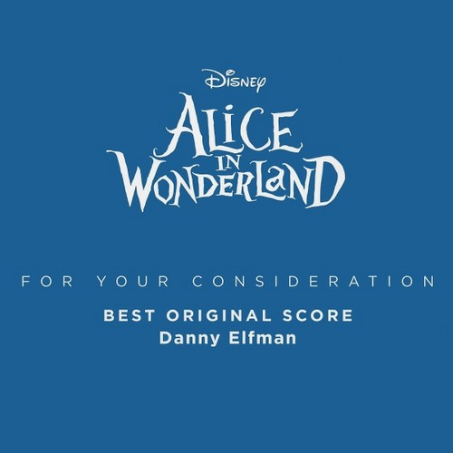 Alice In Wonderland Score CD Covers