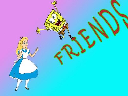 Alice and Spongebob- F.R.I.E.N.D.S.