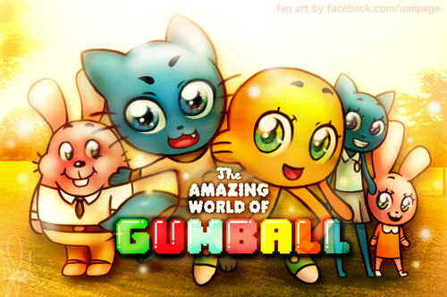 Amazing World Of Gumball Фан Art