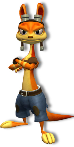 Angry Daxter