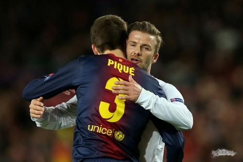 April 9th - Barcelona - David at PSG x Barcelona game