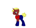 Aqualad as a pony - young-justice photo