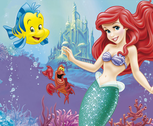 a pequena sereia wallpaper possibly with animê called Ariel