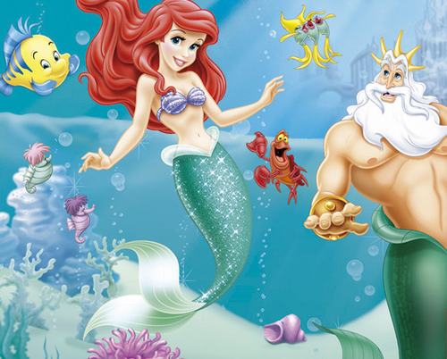 The Little Mermaid wallpaper possibly containing anime titled Ariel