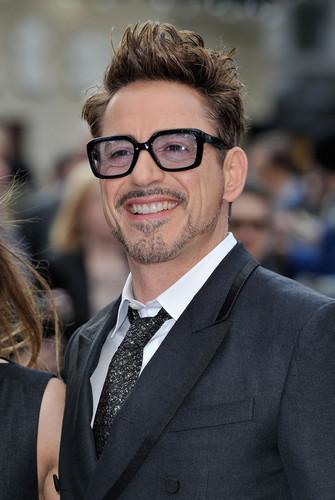 Arrivals at the 'Iron Man 3' Screening in Лондон