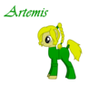 Artemis as a pony - young-justice photo
