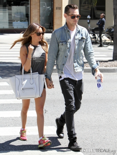 Ashley & Chris out in West Hollywood