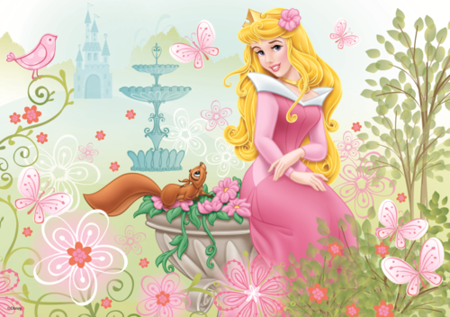 Sleeping Beauty wallpaper entitled Aurora