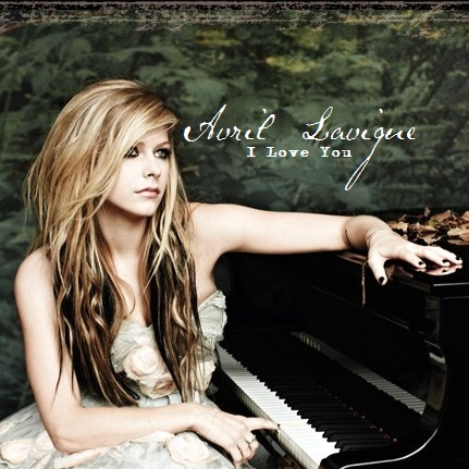 Avril Lavigne پیپر وال with a pianist, a grand piano, and an upright entitled Avril Lavigne - I Love آپ