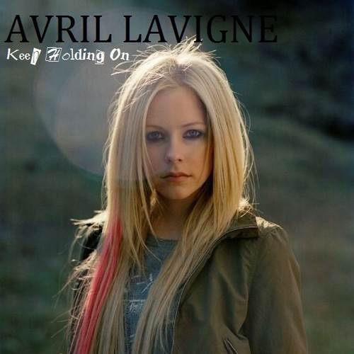 avril lavigne wallpaper with a portrait entitled Avril Lavigne - Keep Holding On