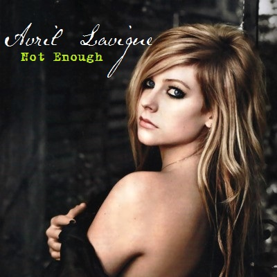Avril Lavigne wallpaper containing a portrait and skin titled Avril Lavigne - Not Enough