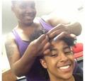 Awwww, she redoing Princeton's hair!!!!! :D XO ;D : { D <3 ;*