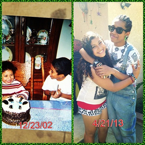Awwwww, Princetyboo & his cousin, Bella from before & after!!!!! :D XO B) ;D <3 ;* :* ; { )
