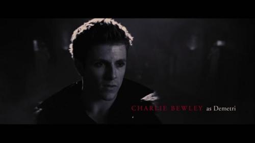BD 2 end credit:Charlie Bewley(Demetri)
