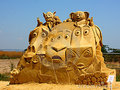 BEST SAND SCULPTURE EVER - penguins-of-madagascar photo