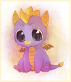 Baby Spyro - spyro-the-dragon photo