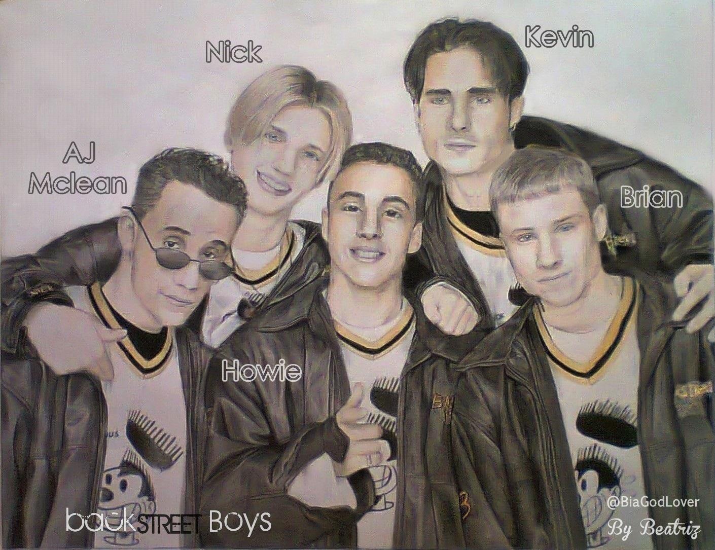 BackStreet Boys Drawing