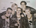 BackStreet Boys Drawing - the-backstreet-boys fan art