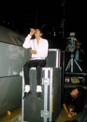 Backstage During The 1984 Victory Tour