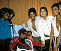 Backstage During The 1984 Victory Tour - michael-jackson photo