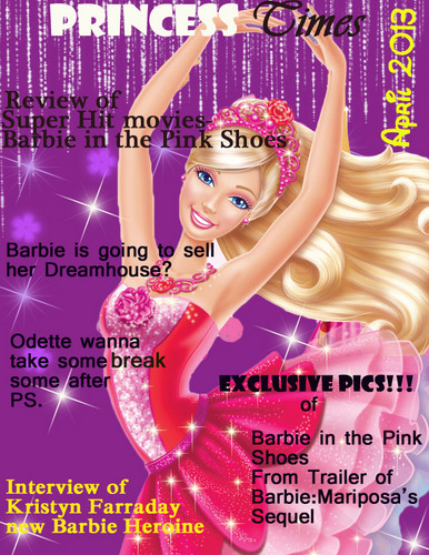 Barbie Magazine cover made da me