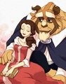 Belle and the Beast - belle fan art