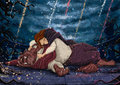 Belle and the Beast - disneys-couples fan art