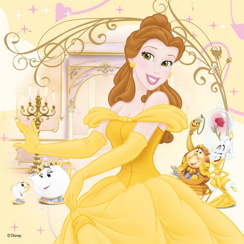 Beauty and the Beast wallpaper probably containing anime entitled Belle